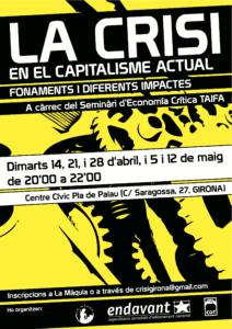 Curs sobre la crisi en el capitalisme actual (Girona)