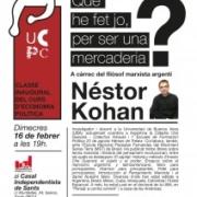 16.02.2011 - N. Kohan a Barcelona