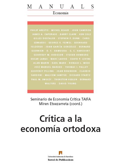 Crítica al la Economía Ortodoxa